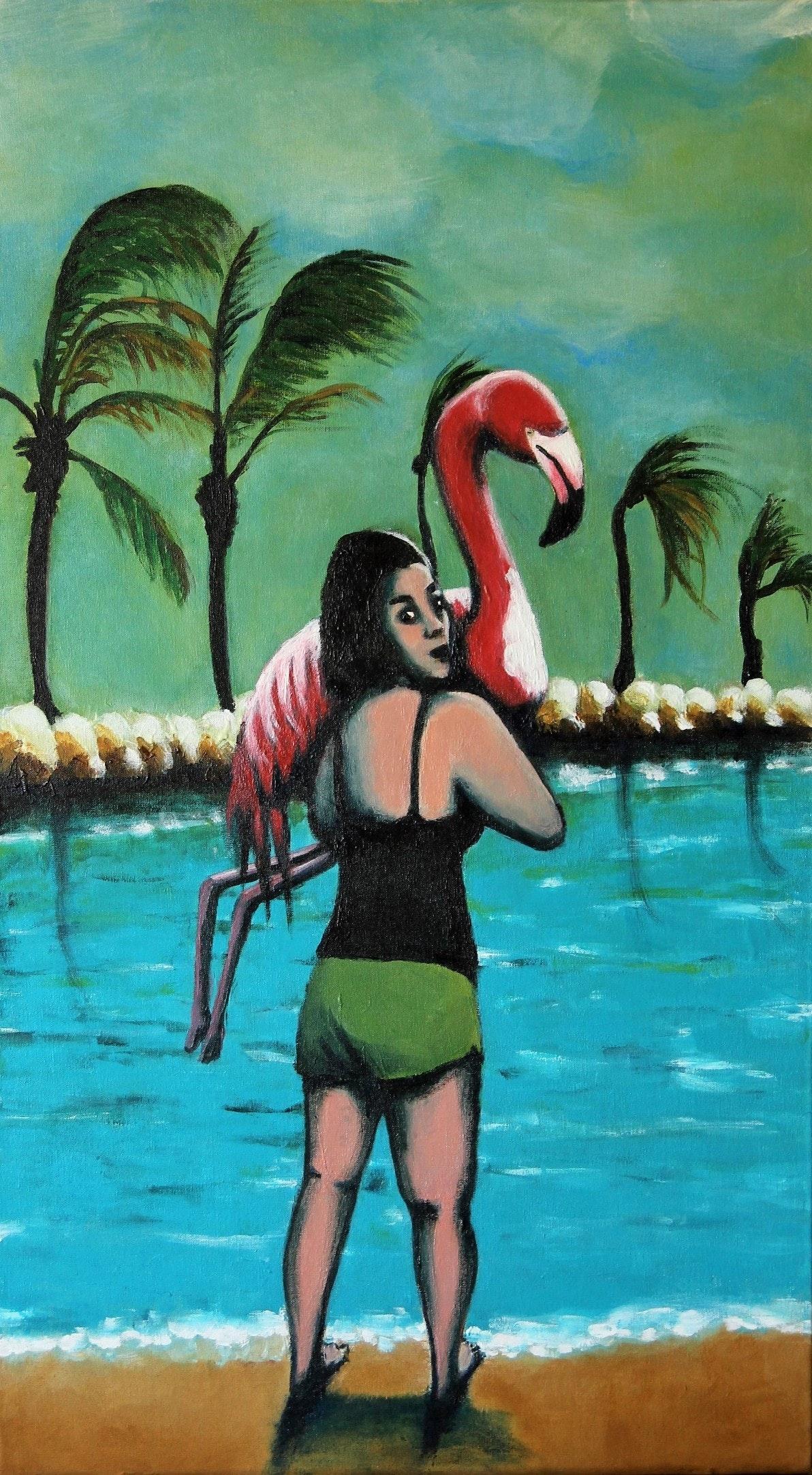 Einat Aloni - Flamingos s