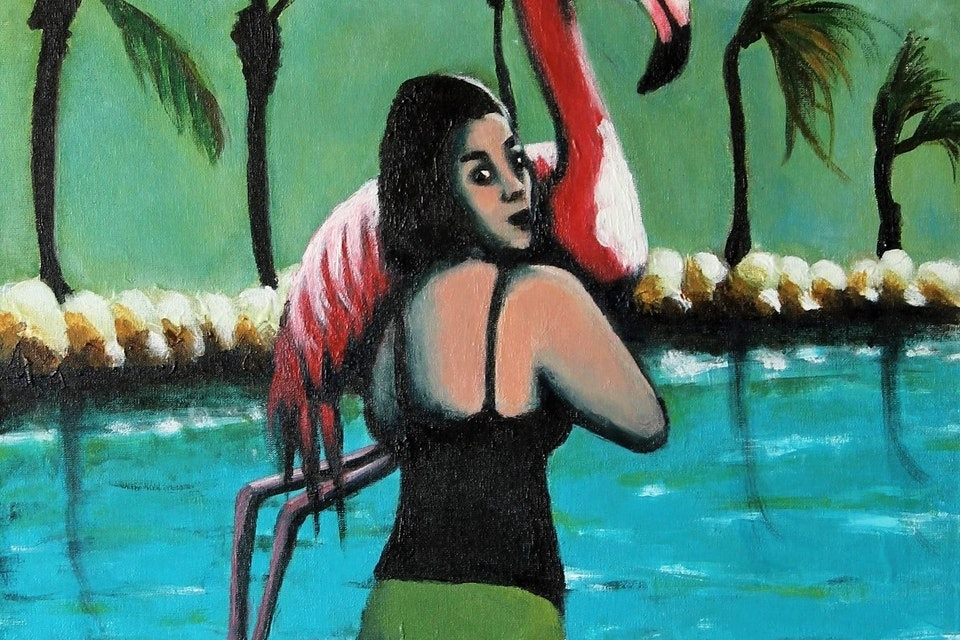 Einat Aloni - Flamingo