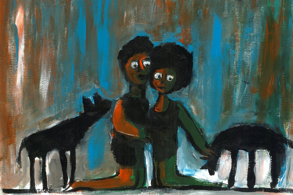 Einat Aloni - The Couple and the Wolves
