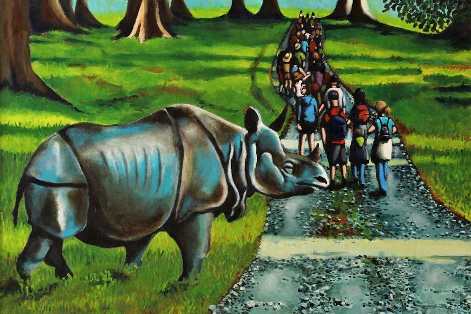 Einat Aloni - The Rhinoceros