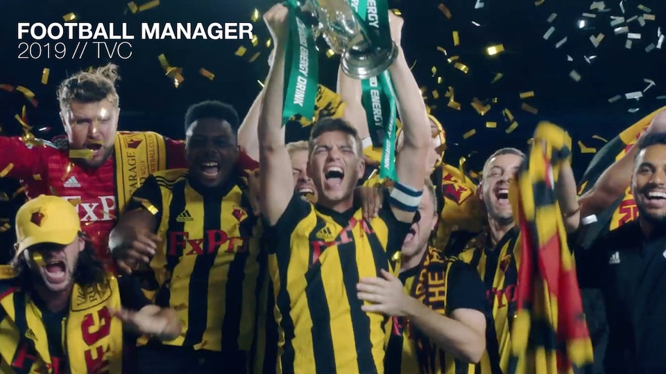 Football Manager 2019 Commercial TVC