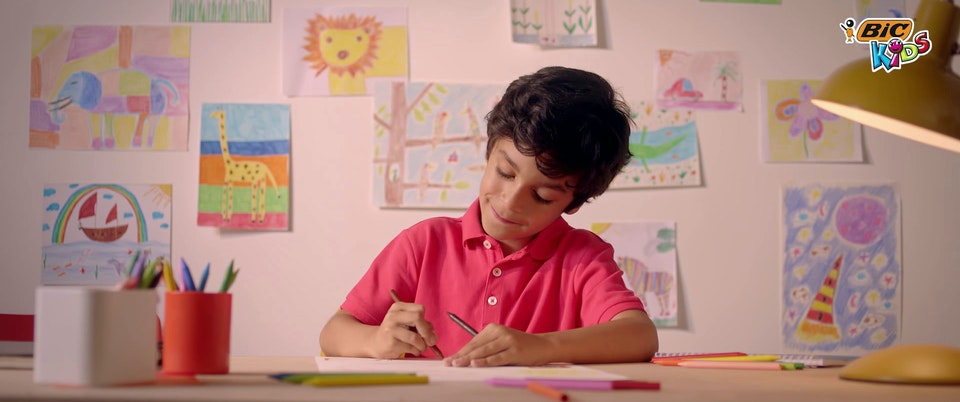 "Bic Kids - South Africa & MENA 30"" commercials - bic03"