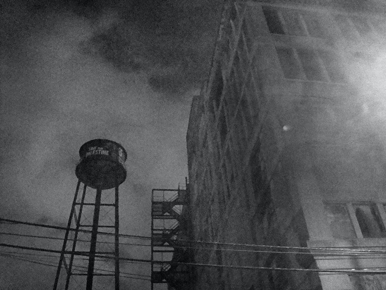 Creepy Water Tower