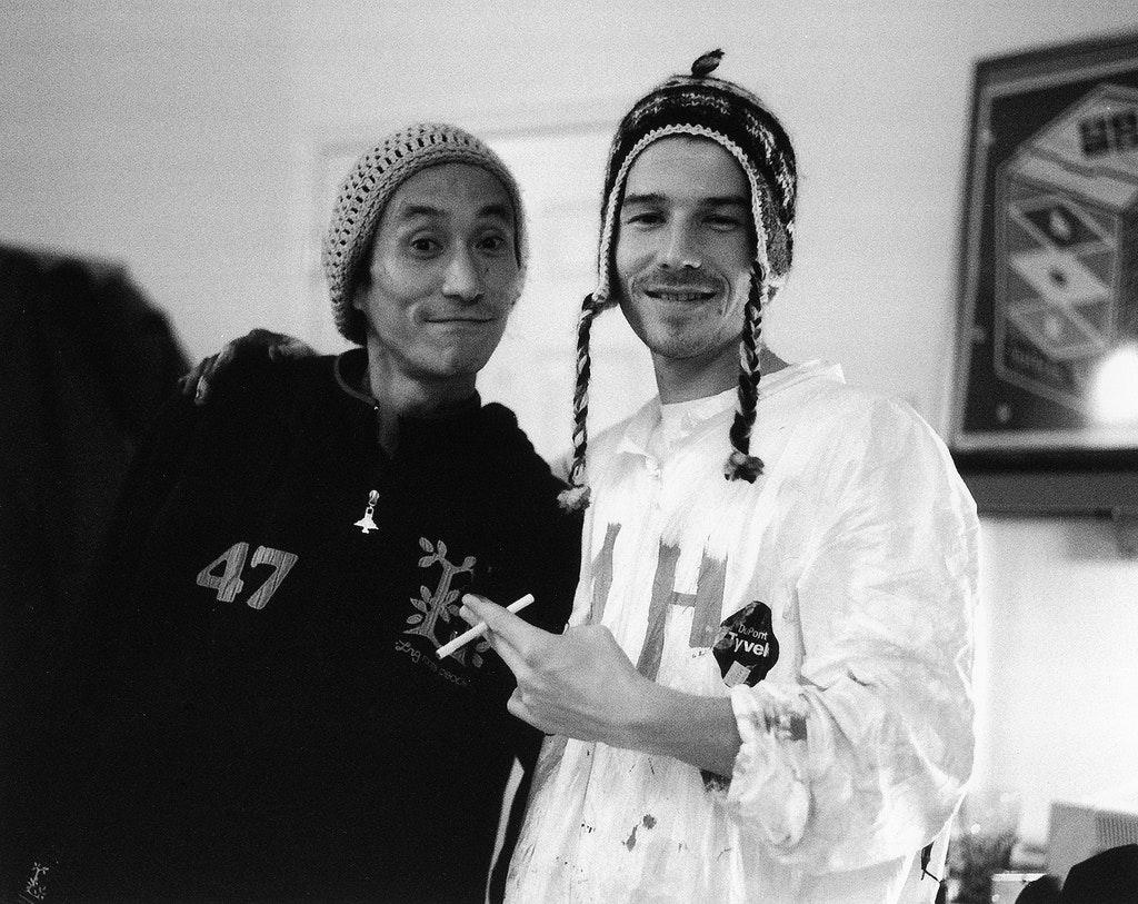 Greg Galinsky and Hidehiko Fujiwara