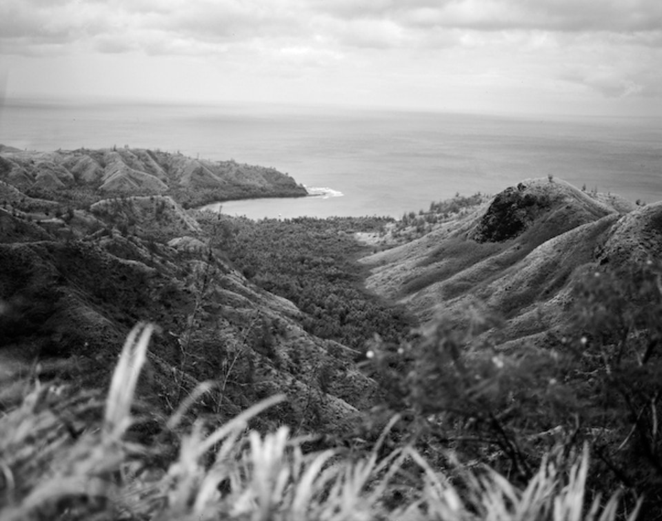 Travelogue (Excerpts) CH Guam 005 Asan 67BW