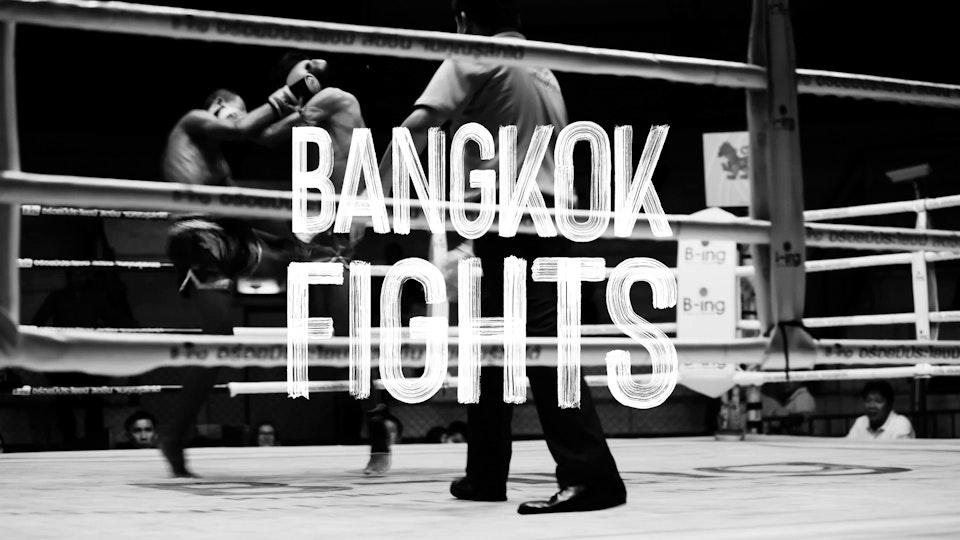 Selected works of Ryan Gerber - Bangkok Fights