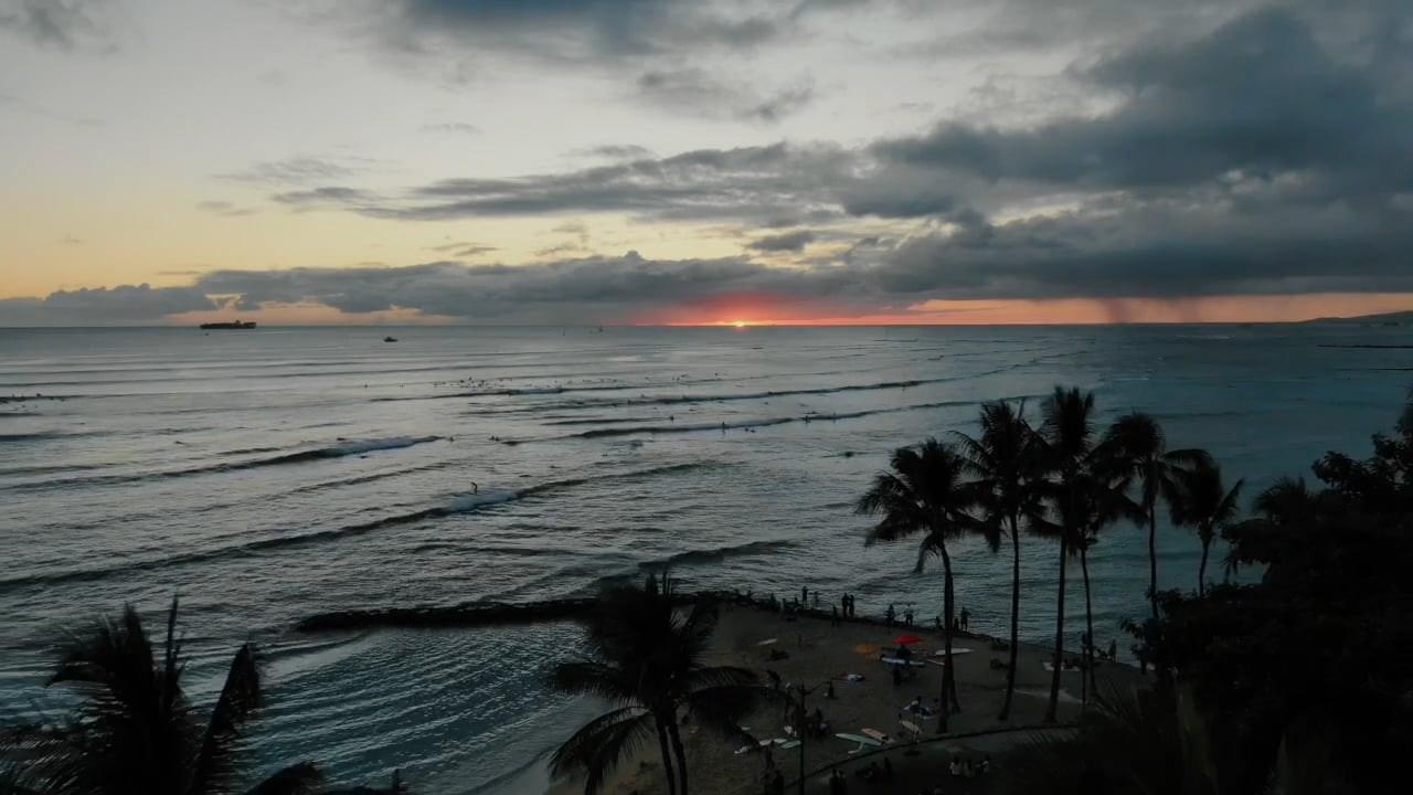 Waikiki Drone