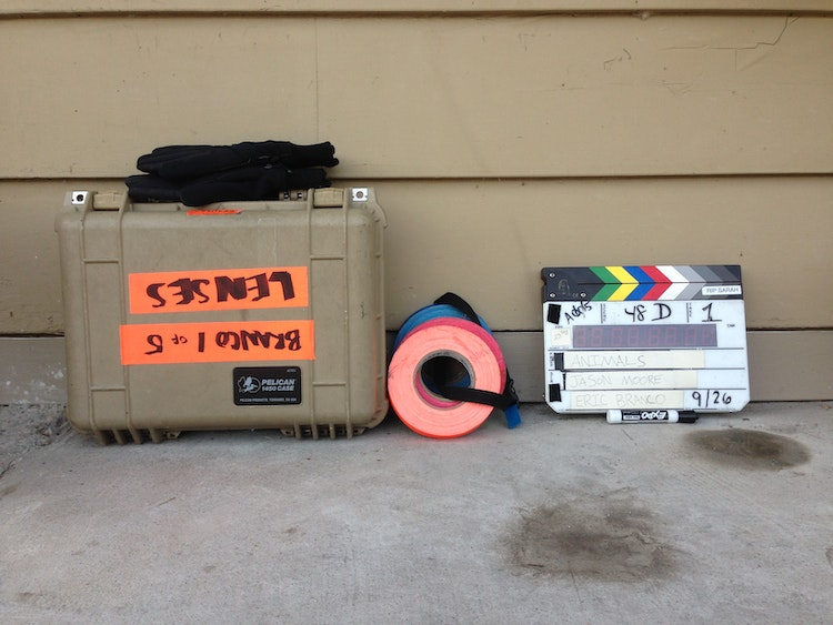 Case tape and slate