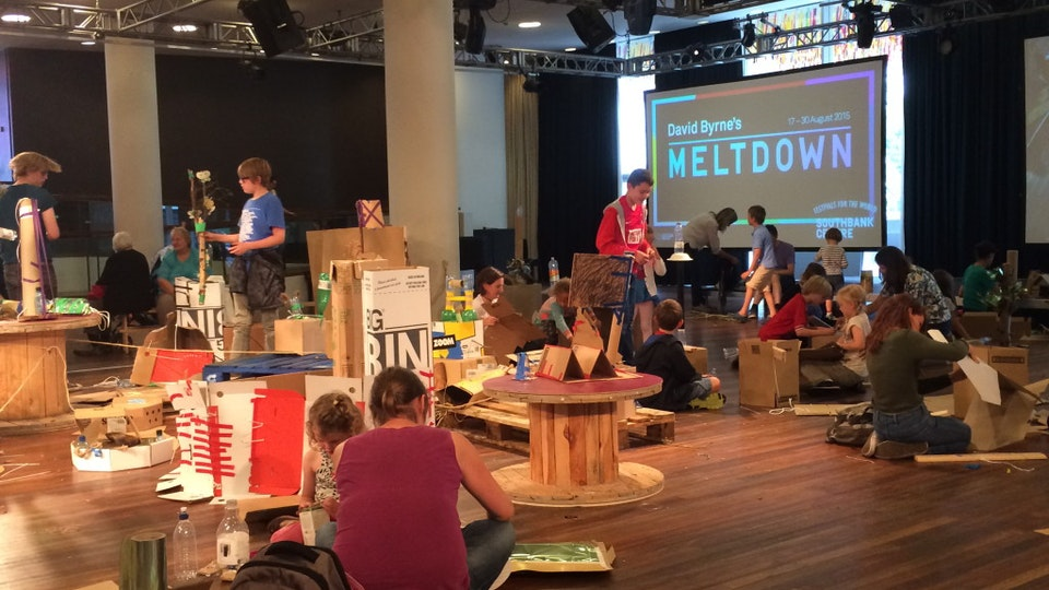 Southbank Centre: Recycled Island
