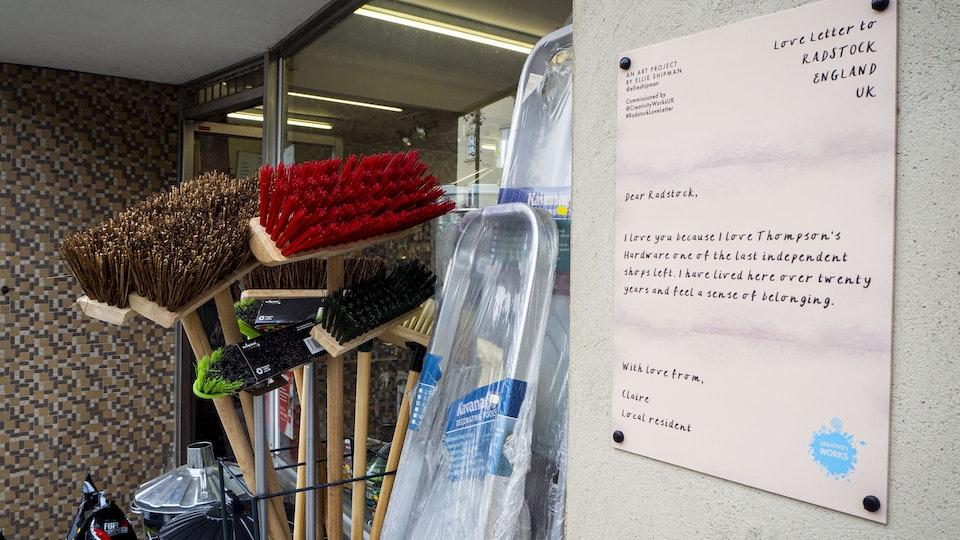 Love Letter to Radstock