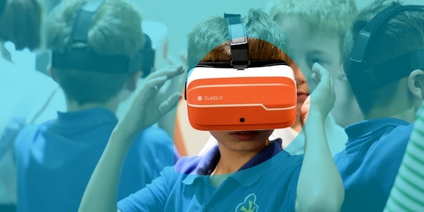 SHARE Boy with Virtual Reality headset 600x300