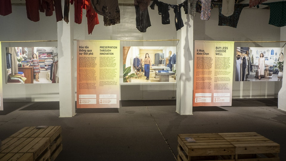 Fashion Revolution: Who Made My Clothes? Exhibition