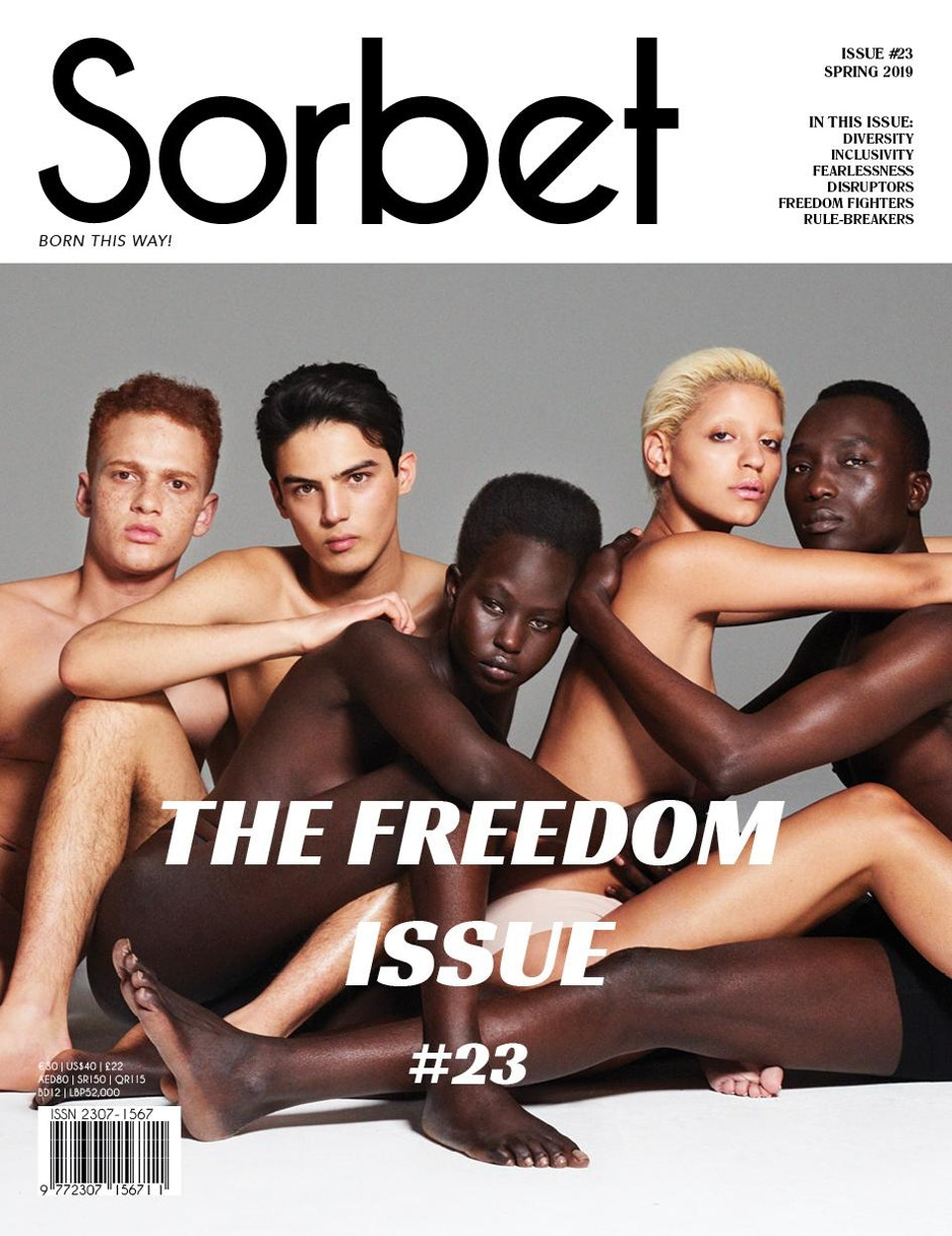 Burberry X Sorbet magazine