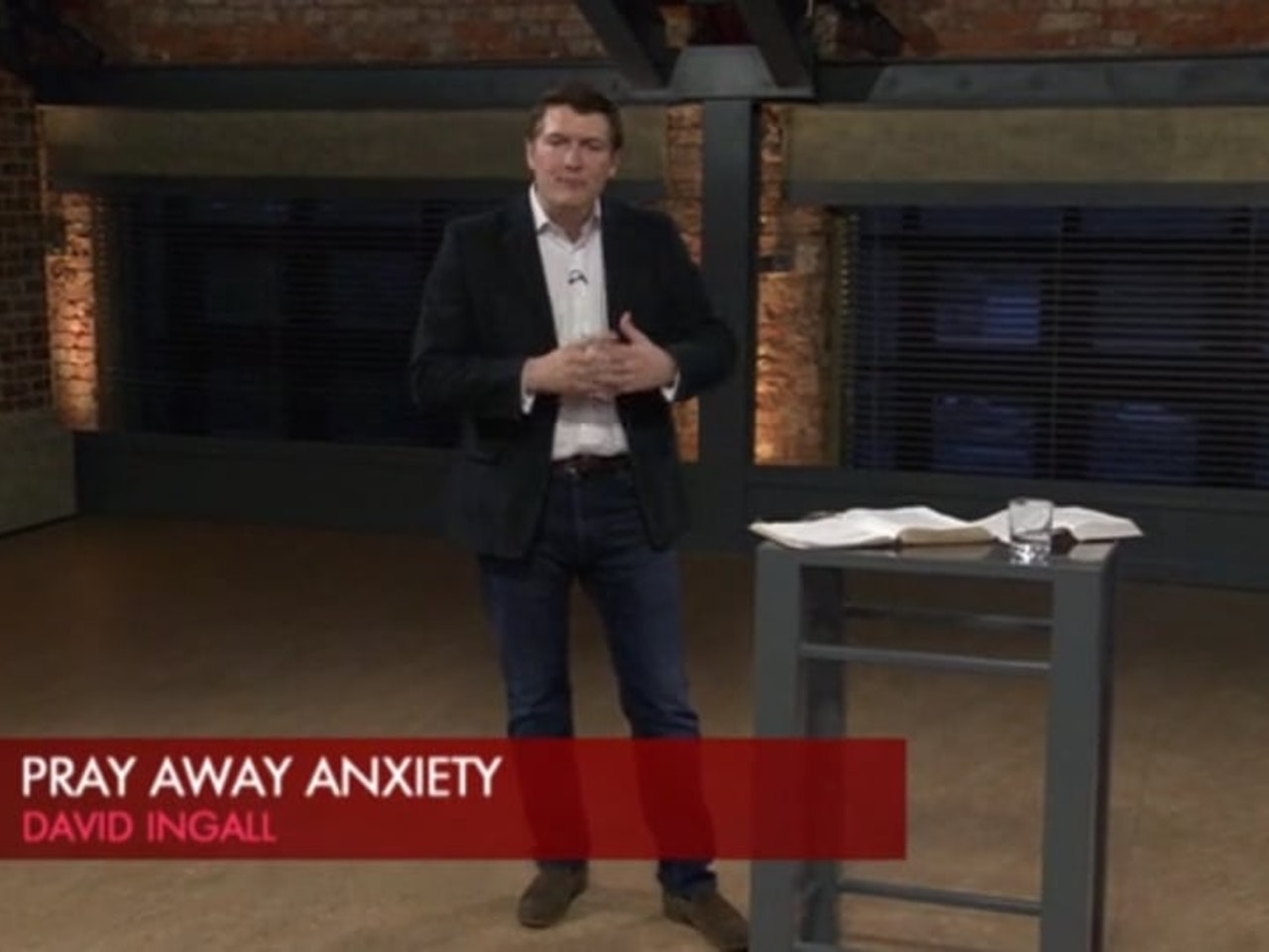 Pursuing Peace - Episode 4 - Pray away Anxiety.