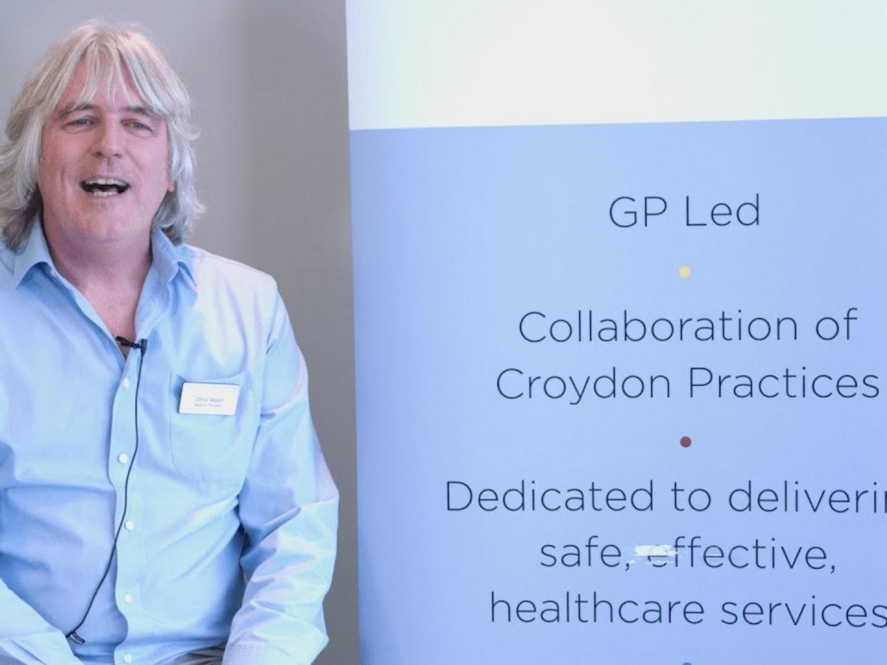 NHS Croydon Training Hub - Chris Wood