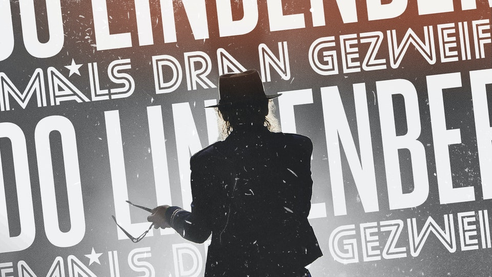 Udo Lindenberg - Niemals Dran Gezweifelt - Live Performance with LED Content at International Music Award