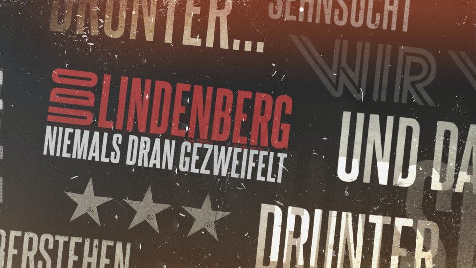 Udo Lindenberg - Niemals Dran Gezweifelt - LED Animation for Live Performance