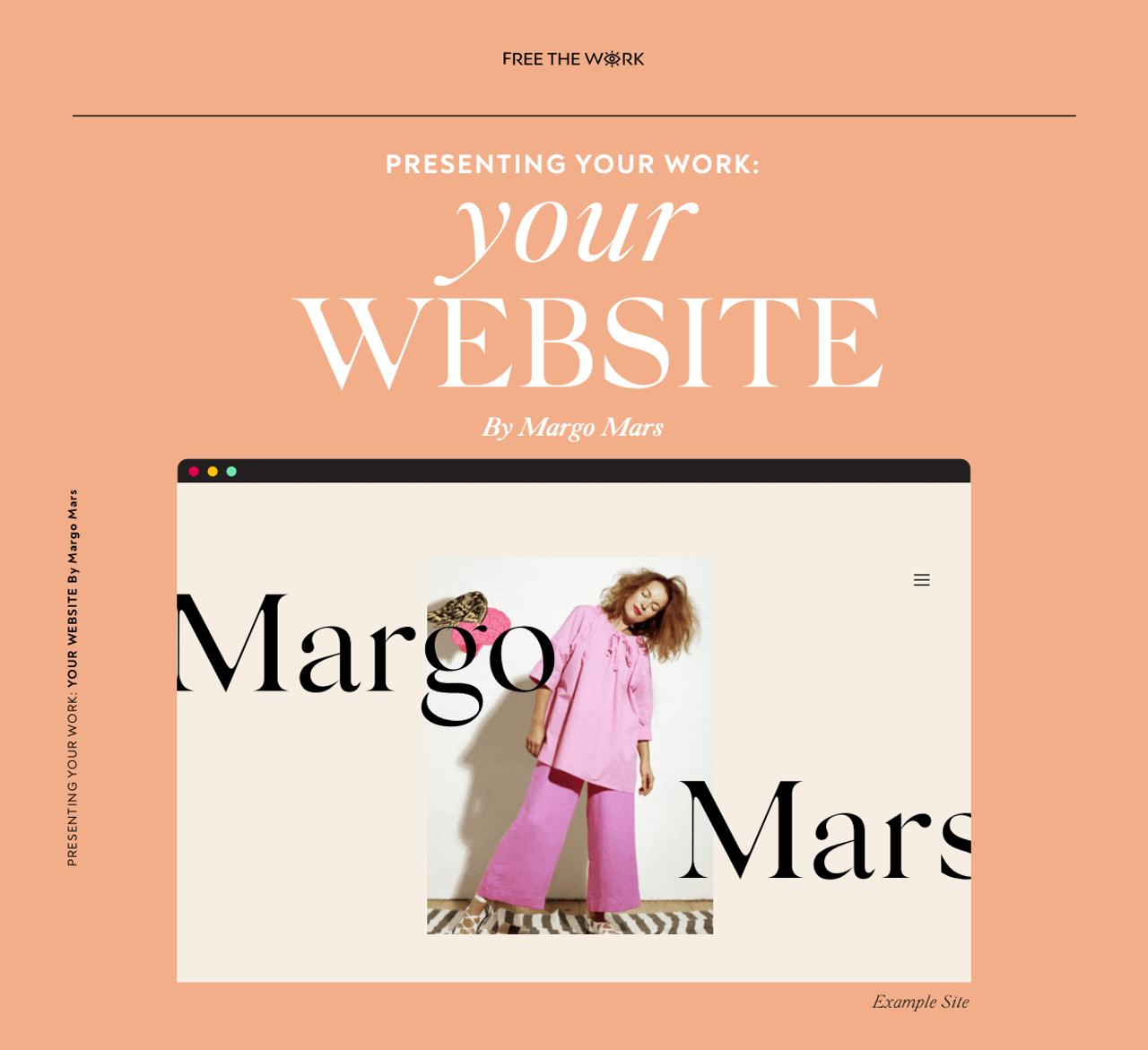 Free The Work first 'How-to-Guide' by Margo Mars