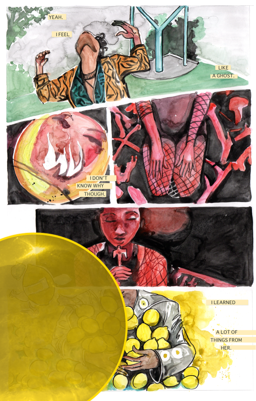 #LOVELIEF: Jamaica Dyer the comic artist you need to know.