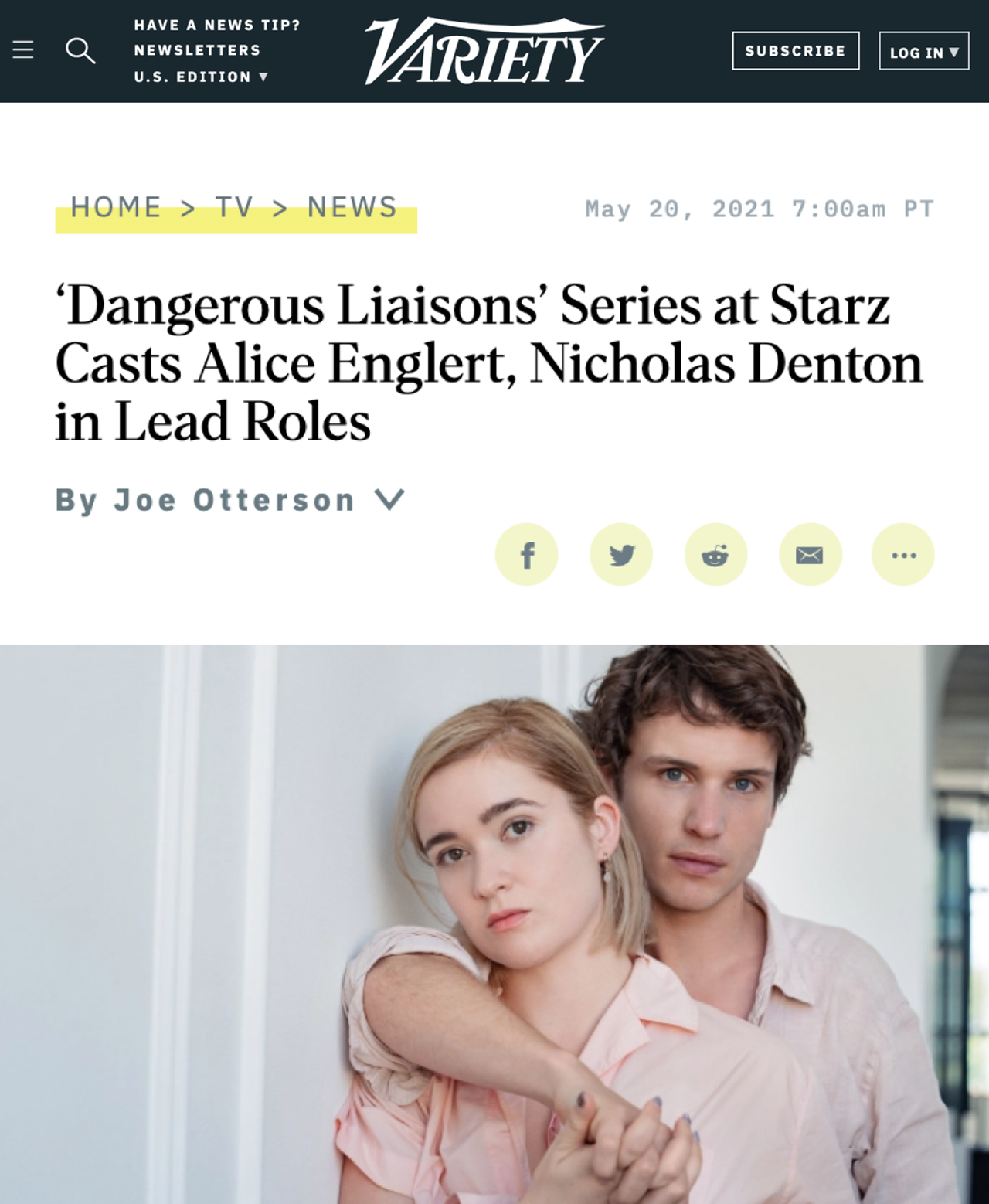 Leonora Lonsdale to direct series reimagining the classic 'Dangerous Liaison'