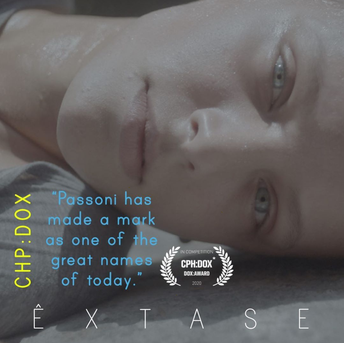 ÊXTASE: a feature doc released to rave reviews in a very similar condition to its main character - isolated from other bodies.