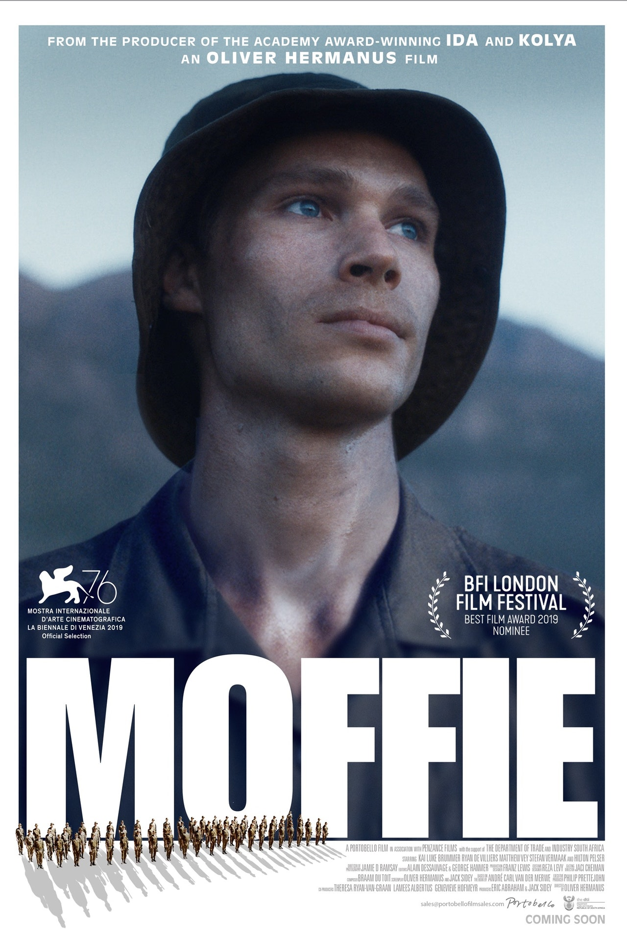 'Moffie' by Oliver Hermanus invited to premiere at Venice International Film Festival 2019.