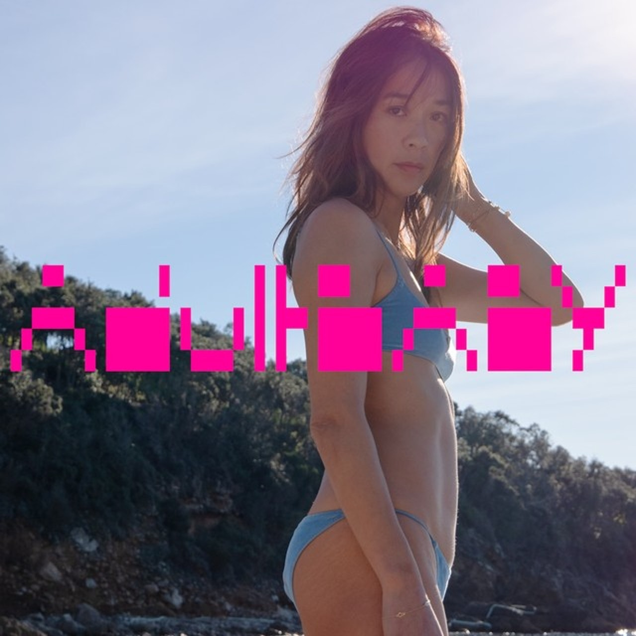 Eva Michon shoots album artwork for Kazu's forthcoming debut solo album 'Adult Baby'!