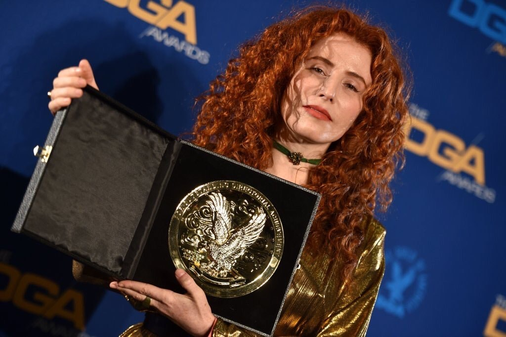 Alma wins Best First-Time-Feature-Film Director at the DGA Awards.