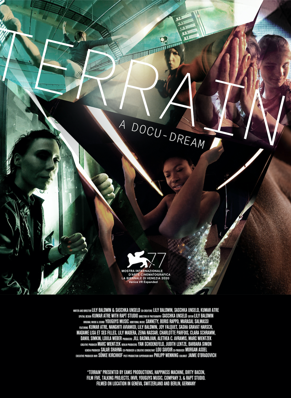 Terrain has its world premiere at Venice Biennale's Venice Film Festival.
