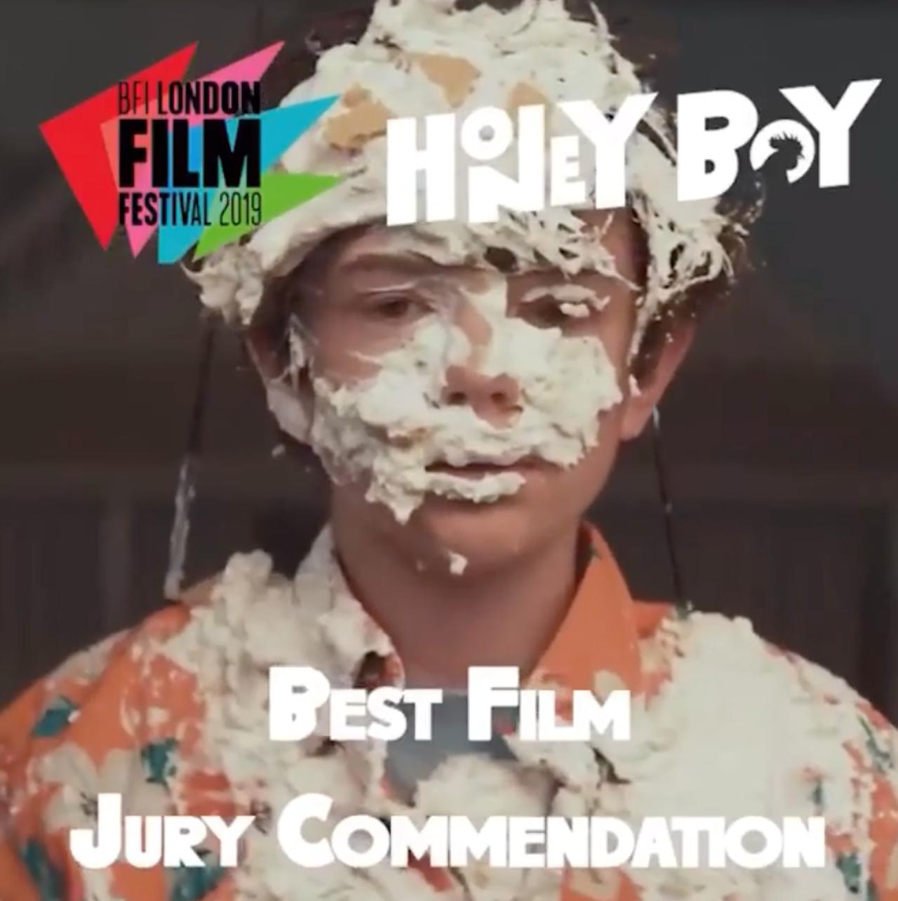 London Film Festival Jury Commendation for Alma's 'Honey Boy'!