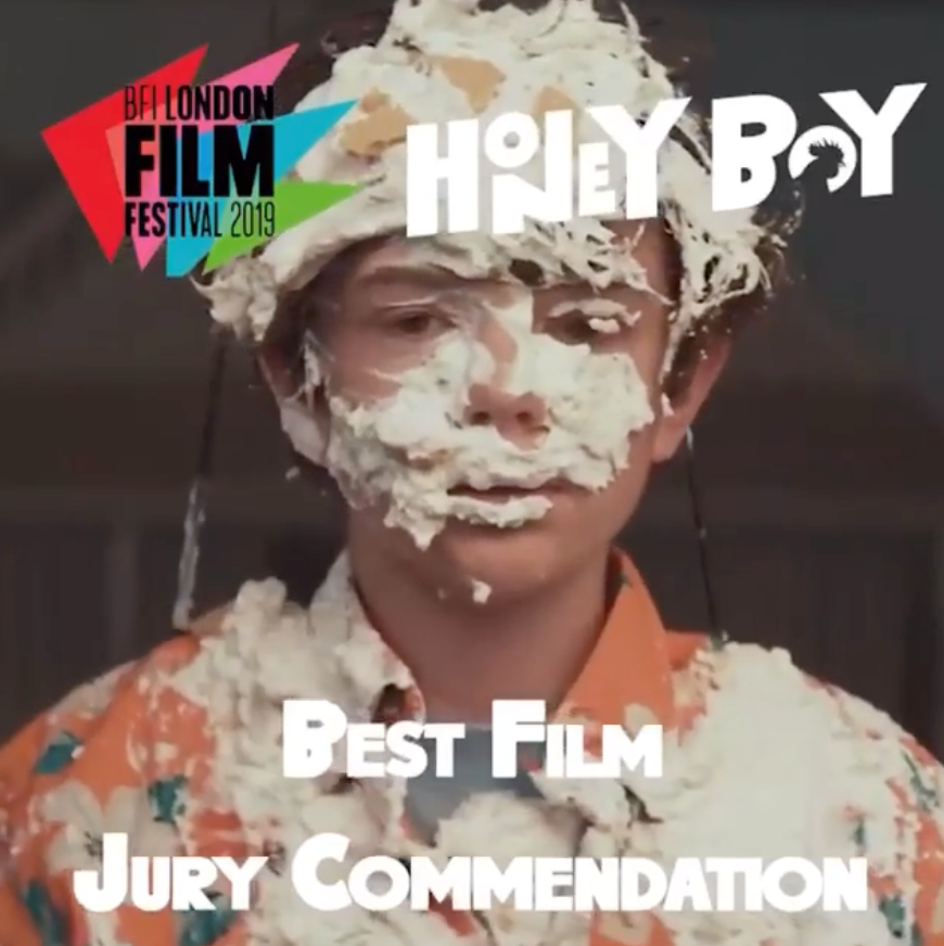 London Film Festival Jury Commendation for Alma's 'Honey Boy'!