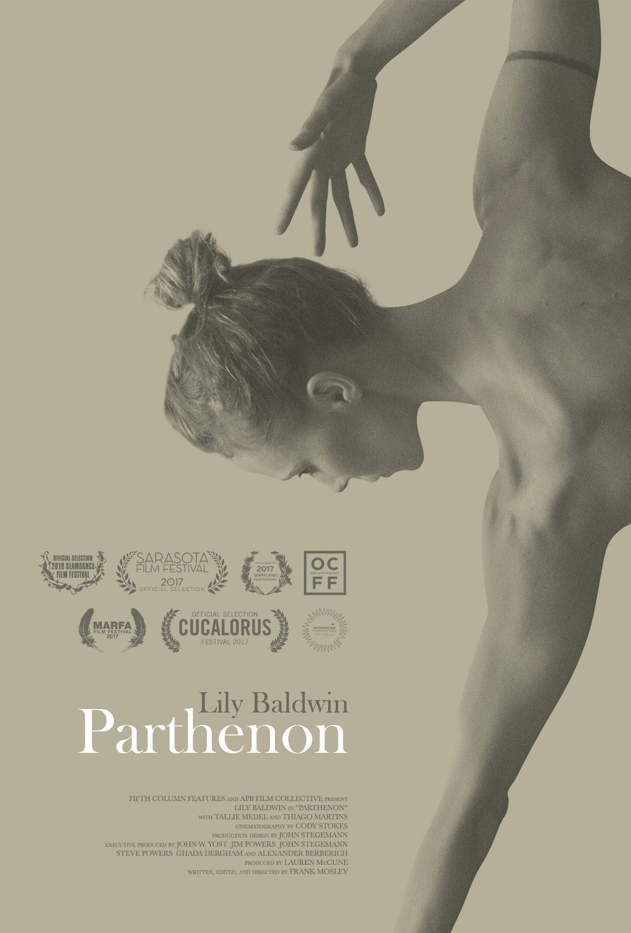 Parthenon featuring Lily Baldwin premieres on NoBudge