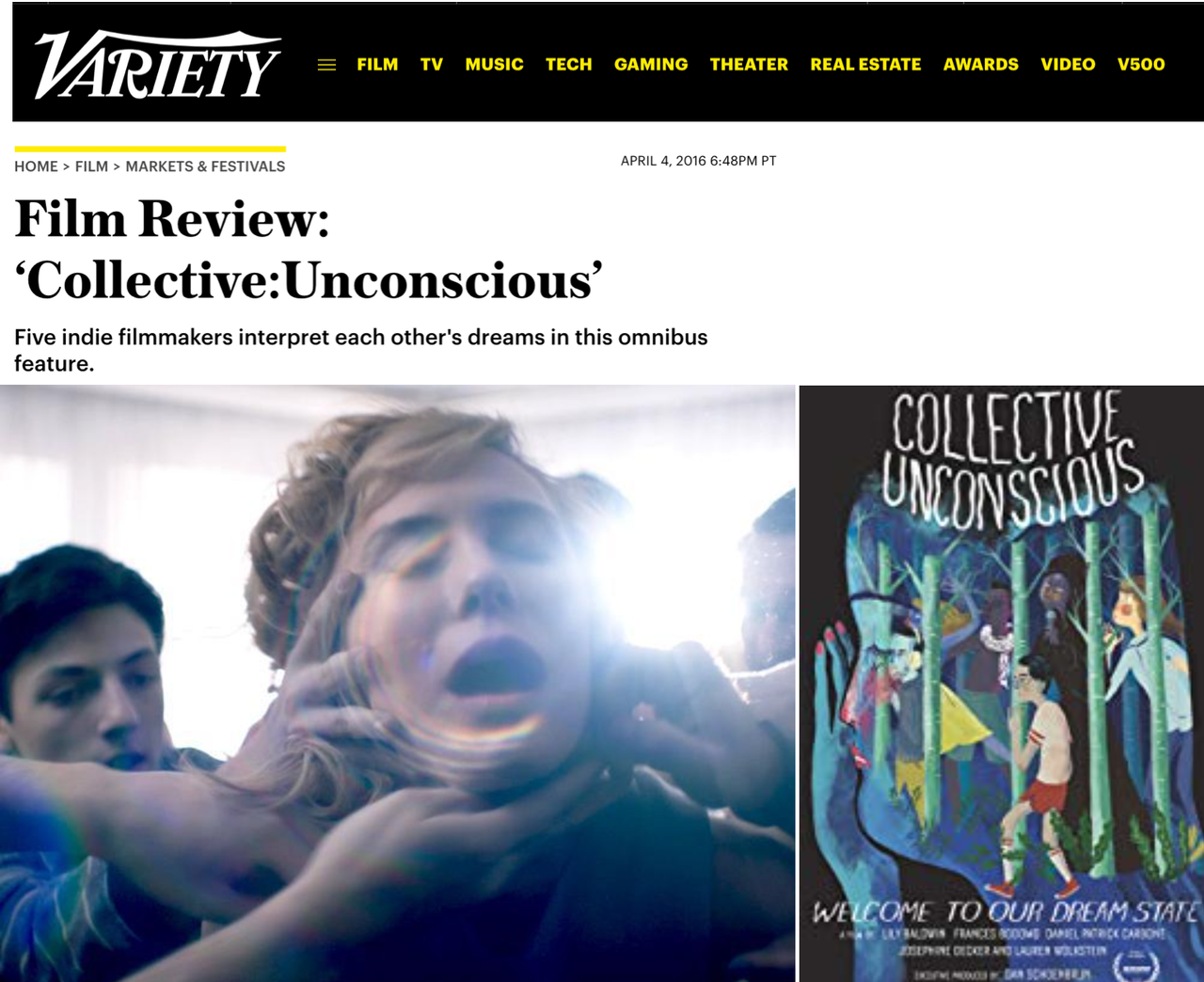Variety on Collective:Unconscious