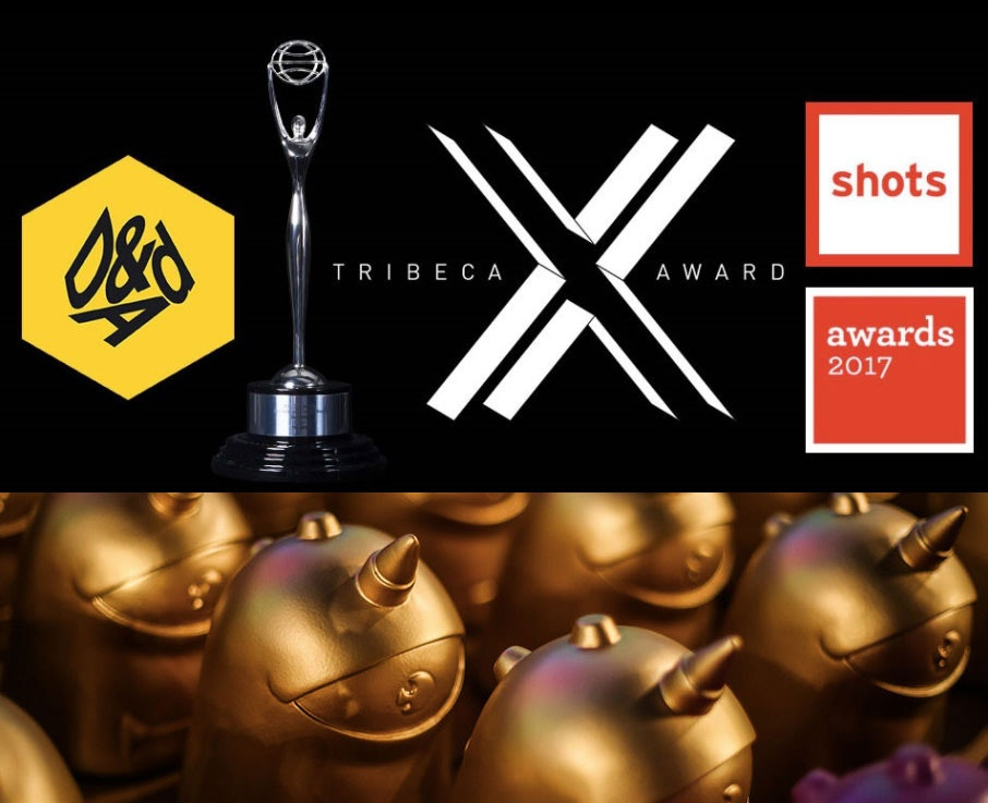 AWARDS: 'one-off branded entertainment of the year' SHOTS award for 'JellyWolf' and Alma Har'el!