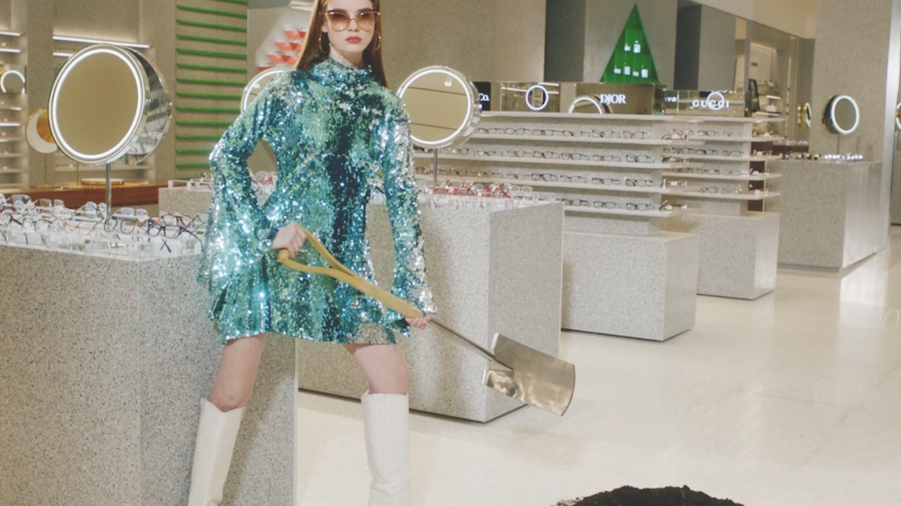 THE WORK: Danny Sangra Vogue x Selfridges 'Everything Looks Better'
