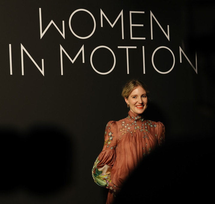 Shannon Murphy receives the 2021 Young Talent Award at Cannes WOMEN IN MOTION.