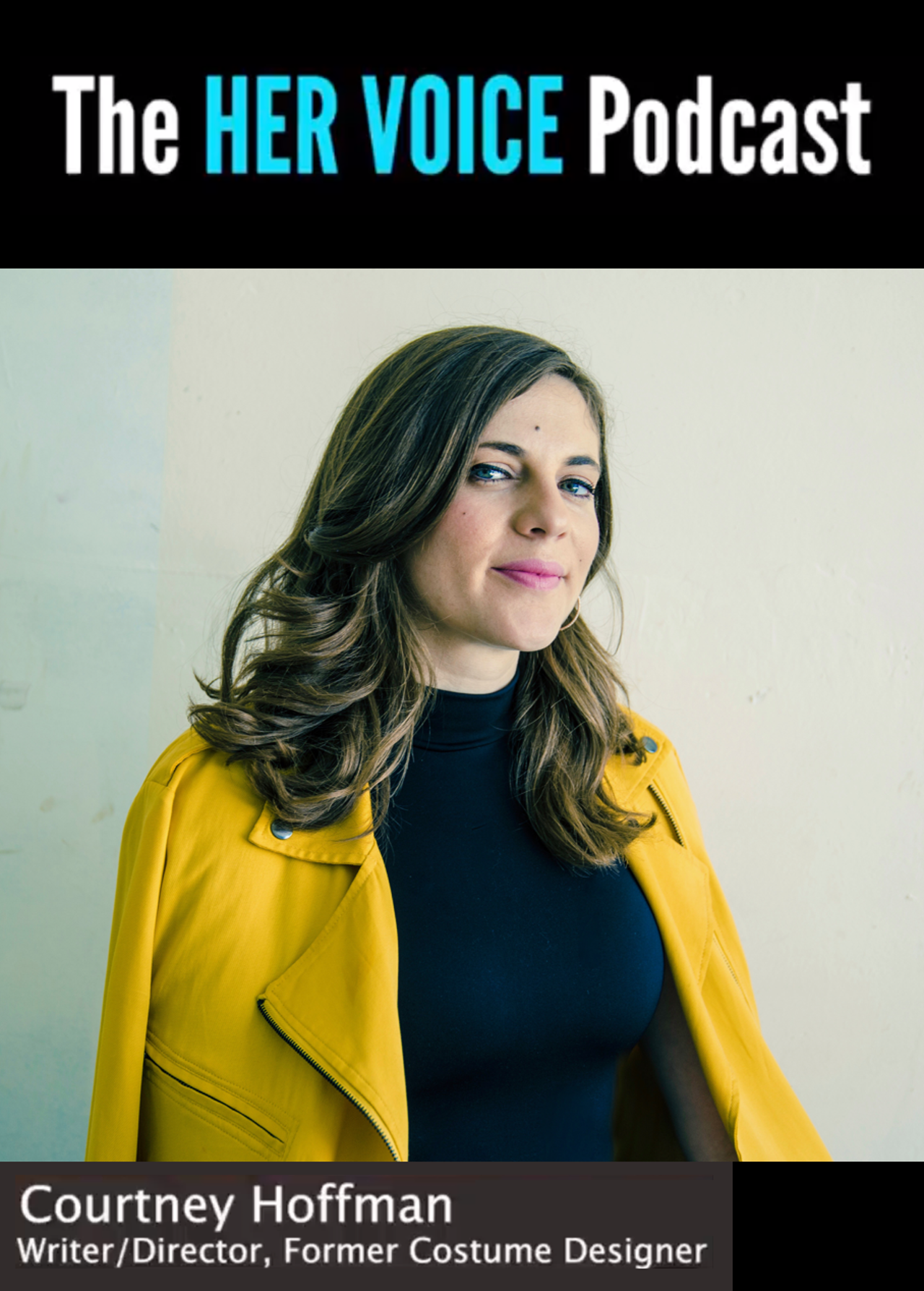 Courtney Hoffman drops in at 'Her Voice' podcast