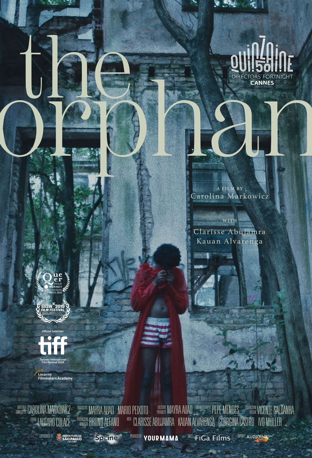 Special Jury Recognition for 'The Orphan' at SXSW.