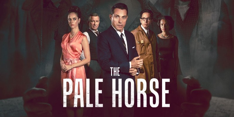 Be sure to watch 'The Pale Horse', an Agatha Christie adaptation set in London '61.
