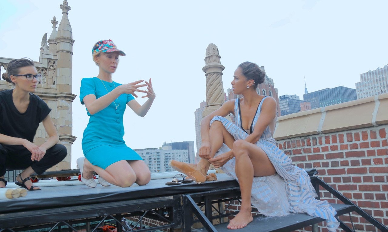 Here's what it's like to work with an award winning Woman director