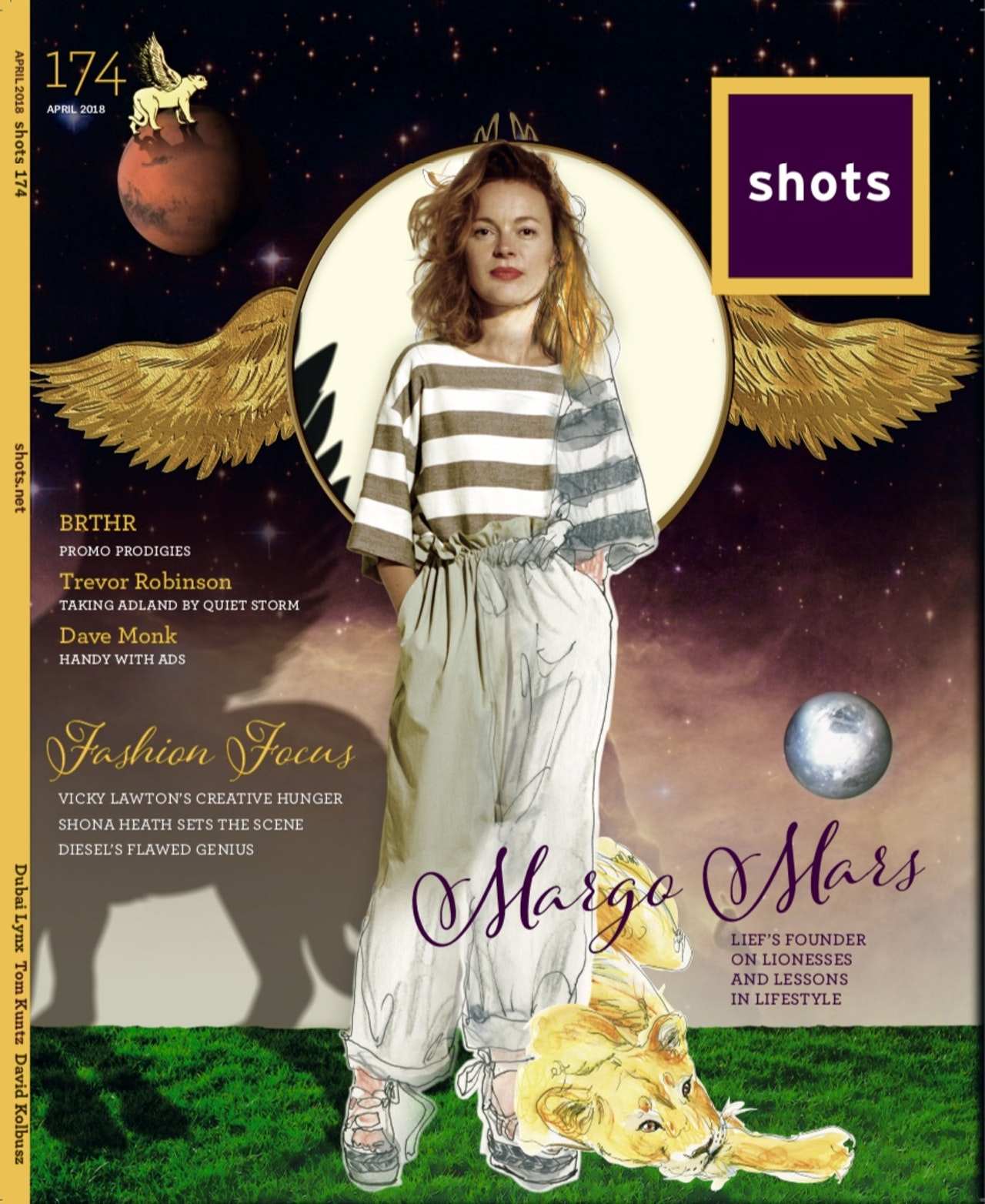 SHOTS magazine celebrates Lief!