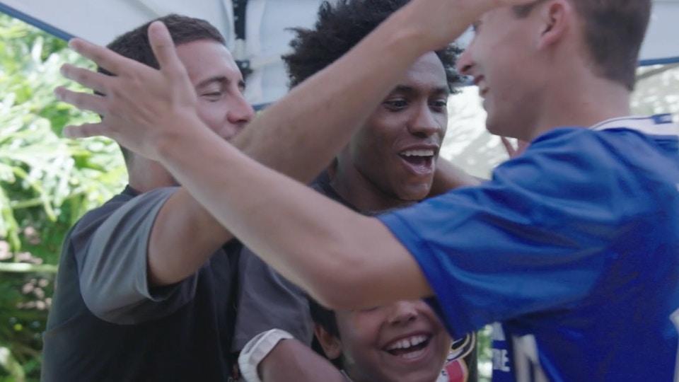 delta   chelsea footballer for a day