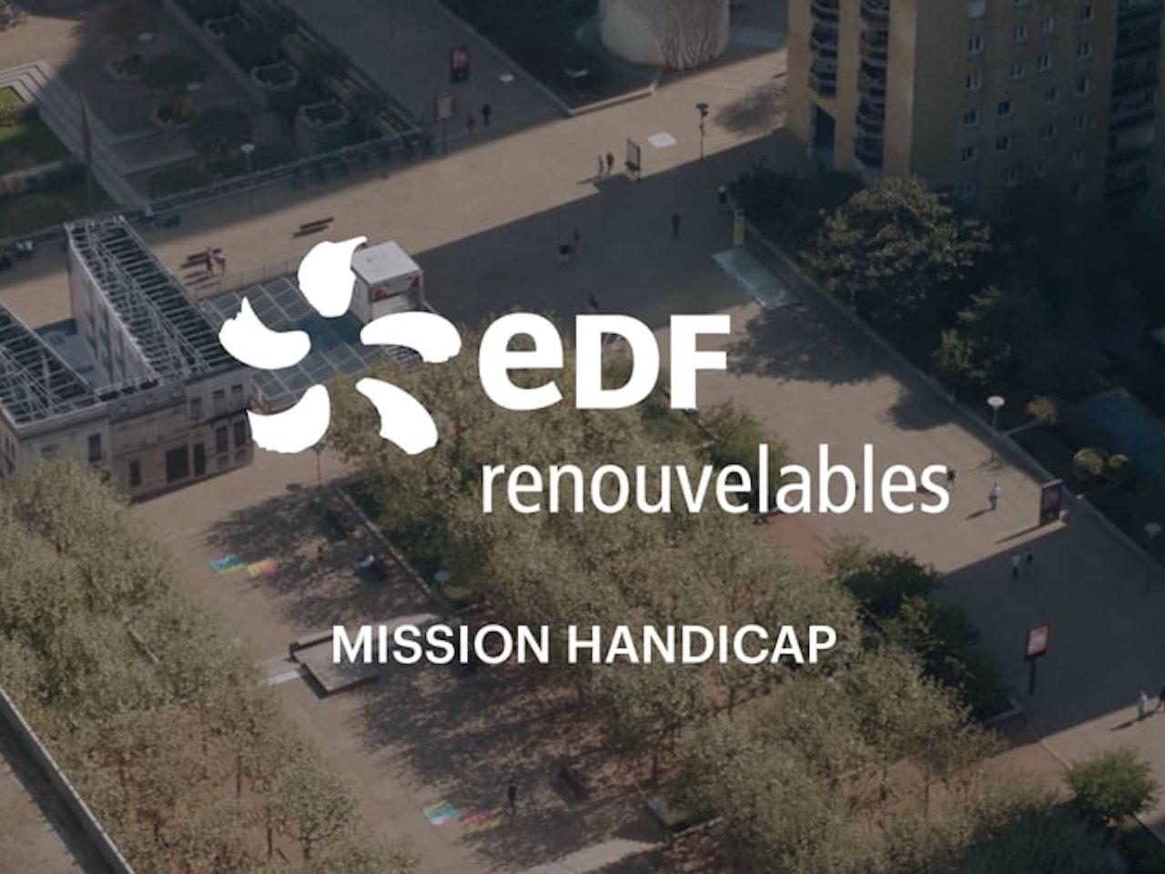 EDF RENOUVELABLES Mission Handicap