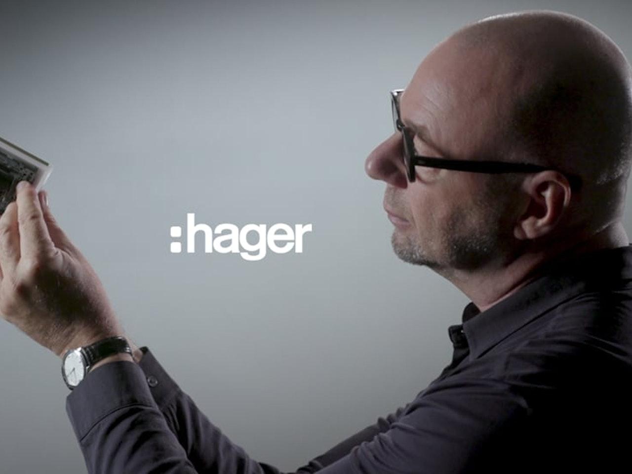 gallery, le design signé Hager
