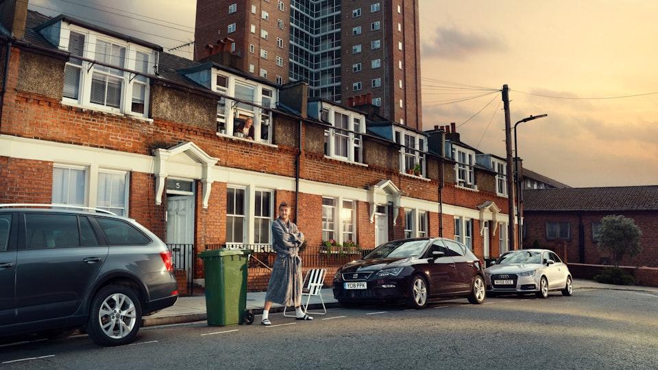 Print Advertising - Hey Car | Photographer -  Gary Salter  | Producer - James Fuller