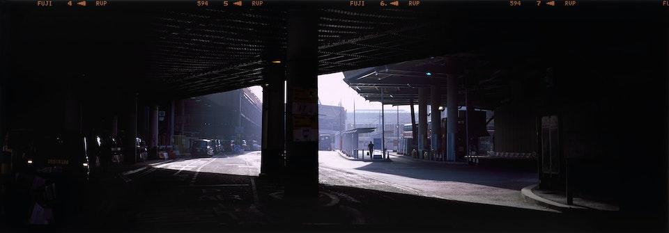 Landscapes: large format film 10x8 and linhof technorama triangle-bridge--web
