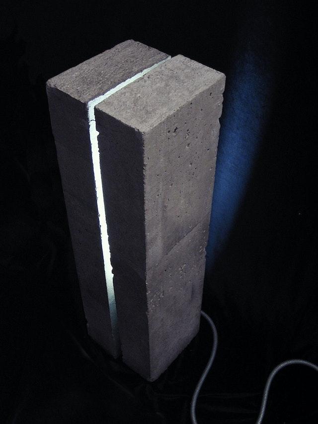 Concrete Lamp 109