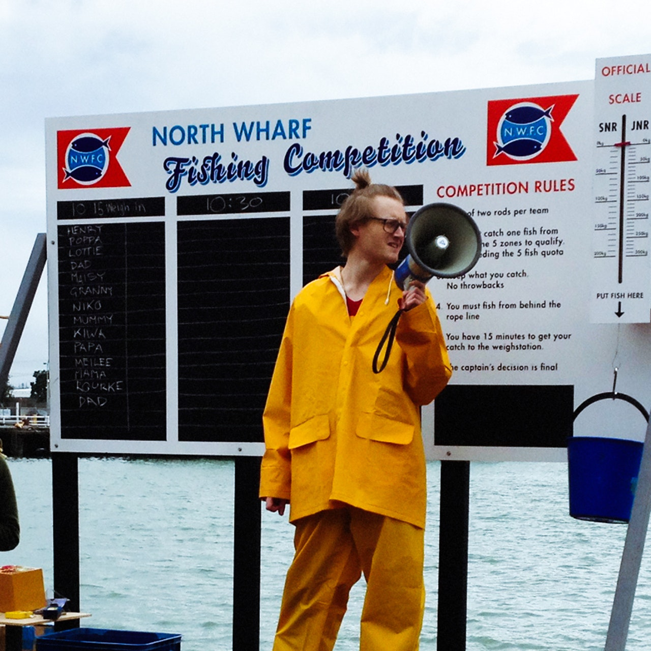 NORTH WHARF FISHING COMPETITION