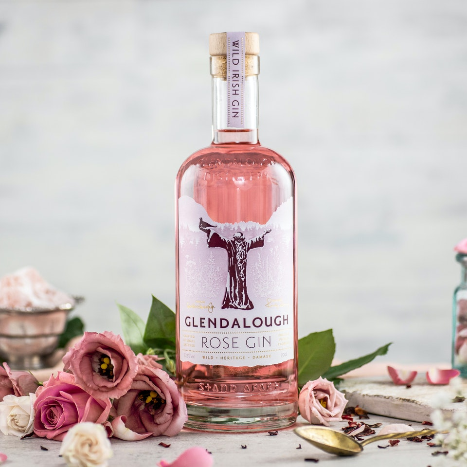 Distilled Content: Brand Building Content Production & Consultancy for the Drinks Industry. - GLENDALOUGH ROSE GIN