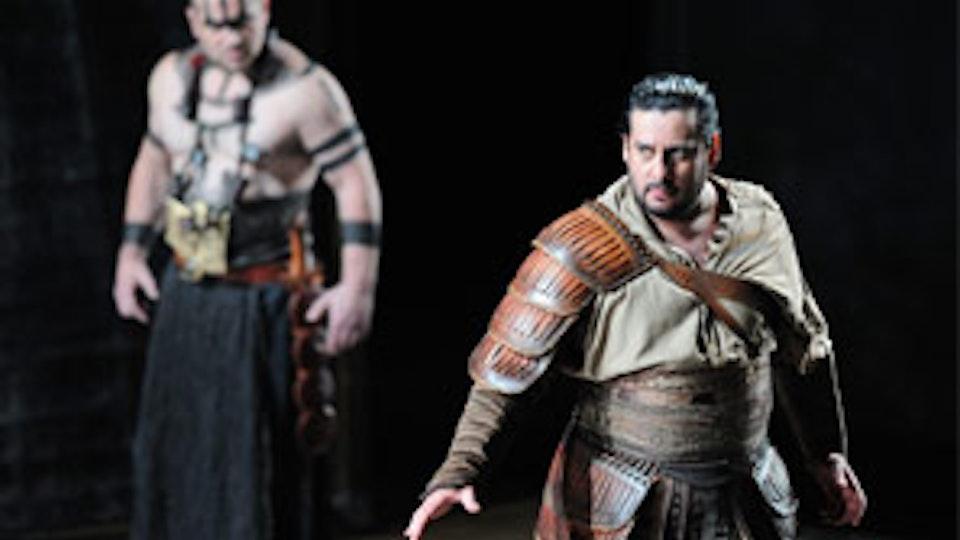 AIDA @the Royal Opera House